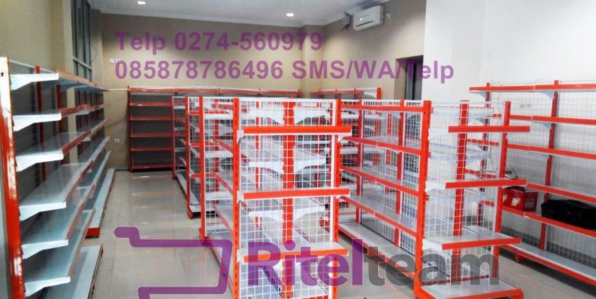 Distributor Rak Minimarket & Perlengkapan Lainnya